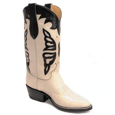 Butterfly Handmade Leather Cowboy Boots