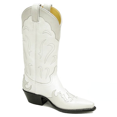 Calla Lily Handmade Leather Cowboy Boots
