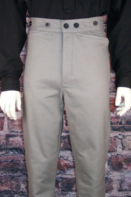 Classic 1849 Gunfighters Brushed Cotton Twill Western Pants