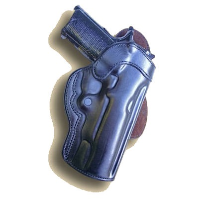 Conceal Carry Leather Gun / Pistol Paddle Holster