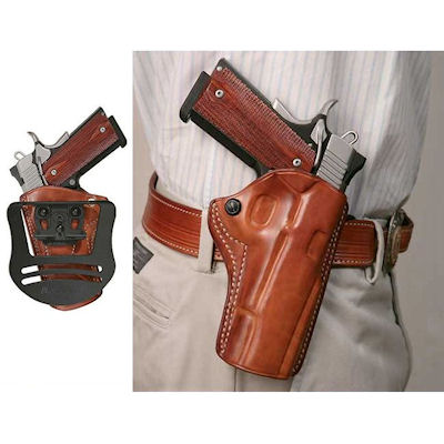 Conceal Pro Leather Paddle Holster