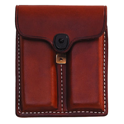 Covered Leather Double Clip Pouch 1911 Design