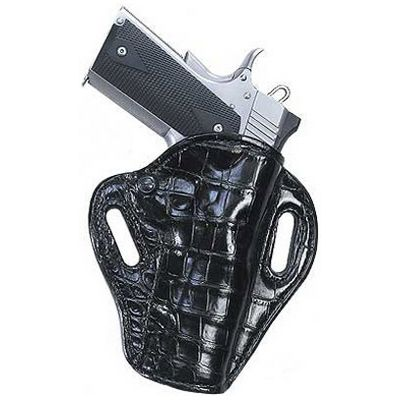 Crocodile Black Crosshair Gun / Pistol Holster