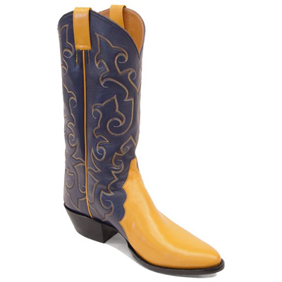 Gallegos Triad Smooth Leather Cowboy Boots Ca