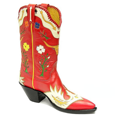 Gene Autry III Handmade Leather Cowboy Boots
