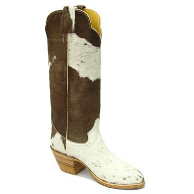 Handmade Holstein Hair On Cowhide Cowboy Boots Otp Ca