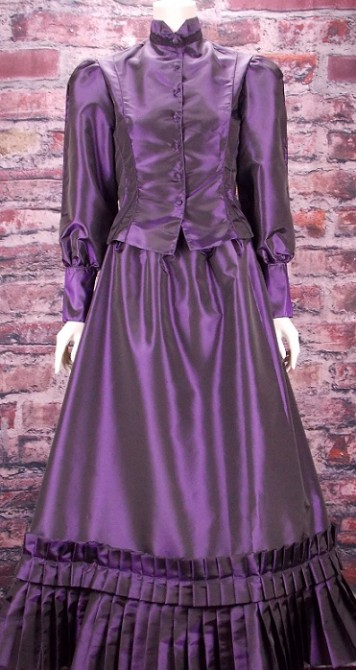 Ladies Frontier Classic 2 Piece Old West Taffeta Suit