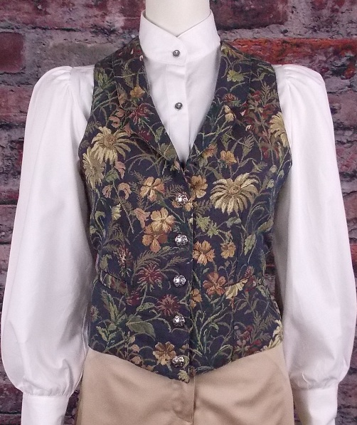 Ladies Old West Classic Sheridan Tapestry Vest