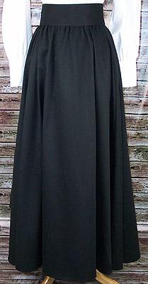 Ladies Western Cotton Twill Bustle Skirt Otp Fc Cl360
