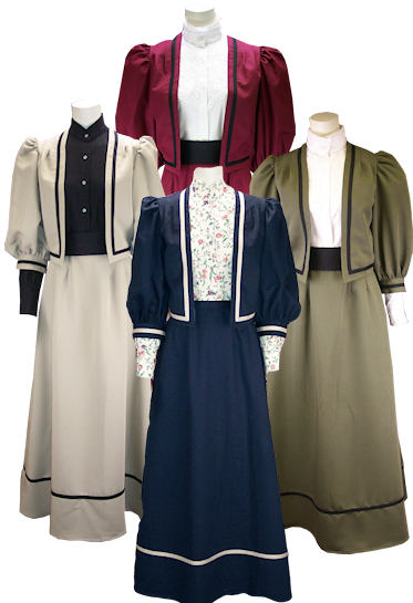 Ladies Western Cotton Twill Jacket / Skirt Outfit
