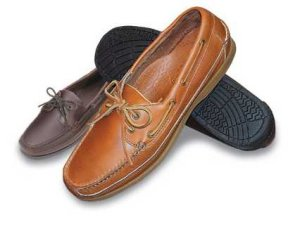 Leather Boat Moccasins