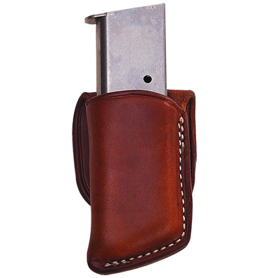 Leather Friction Clip Pouch Single Clip / Magazine