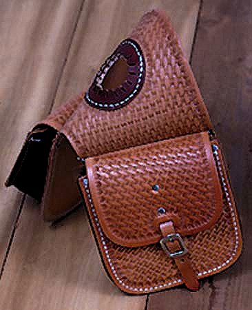 Leather Western Saddle Horn Bag