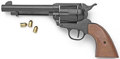 M1873 9MM Blank Firing Black Finish Old West Revolver
