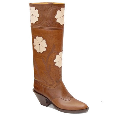 Magnolia Handmade Leather Cowboy Boots