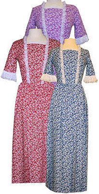 Mattie Western Cotton Dress