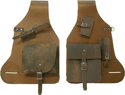 Leather Medicine Bags for Western Saddle