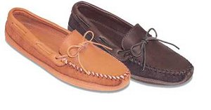 Men's Double Bottom Moose Moccasins