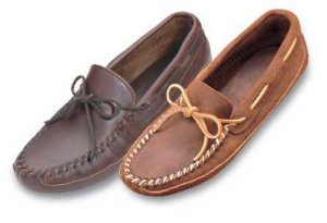 Men's Double Bottom Soft Sole Moccasins