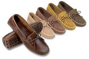 "Men's ""Original"" Cowhide Driving Moccasins"