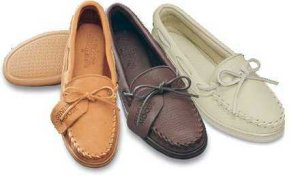 Men's Straight Plug Moosehide Moccasins