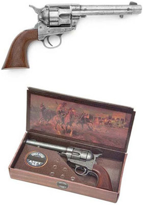 Model 1873 Army Pistol With Antique Gray Finish