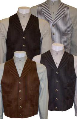 Northern Plains Outlaw Old West Cowboy Cotton Vest Otp Fc