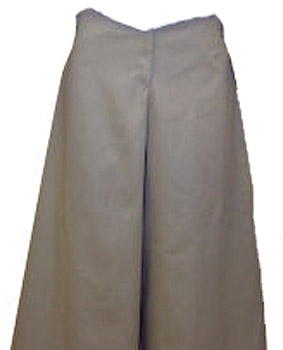 Old West Ladies Cotton Skirt / Pants