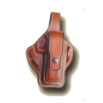 Pancake Design Holster with Magazine / Clip Pouch