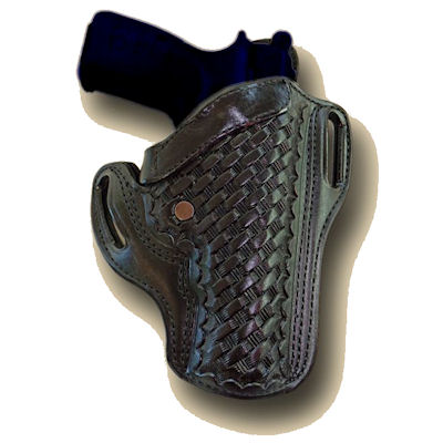 Pancake Design Holster with Reinforced Open Top