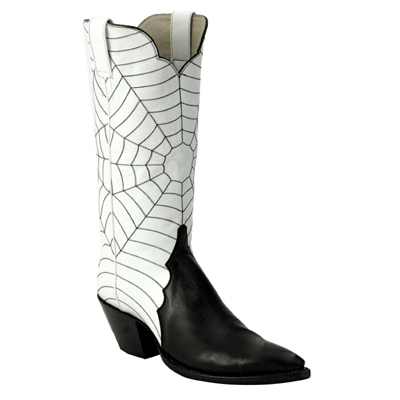 Spider Triad Smooth Leather Cowboy Boots