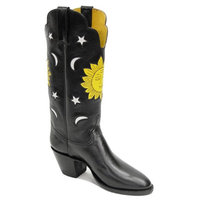 Sun King Handmade Leather Cowboy Boots