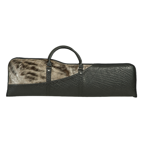 Takedown Shotgun / Rifle Bag Blue Wildebeest and Cape Buffalo Hide Carrying Case
