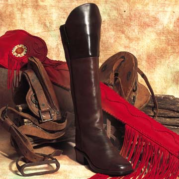 The Cavalry Crazy Horse Western Leather Boots