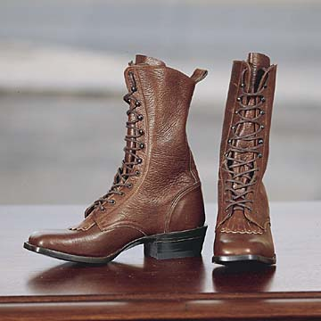 The High Towne Western Leather Boot