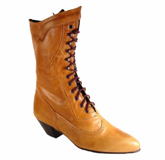 Womens 1800's Period Authentic Boots : Old West Gun Leather ...