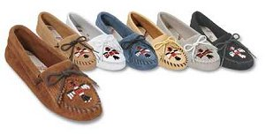 Thunderbird Soft Sole Leather Moccasins