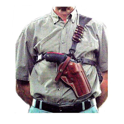 how to wear a shoulder holster