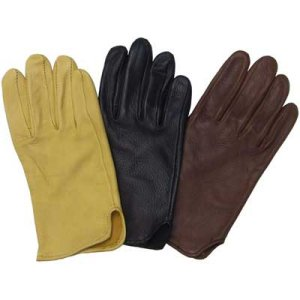 Western Cowboy Deerskin Riding / Driving Gloves