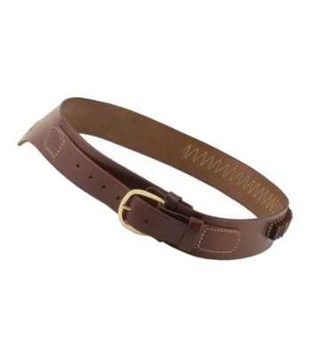 western cowboy wyoming leather drop loop gun belt only