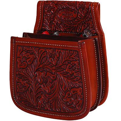 Western Leather Skeet Trap Shotgun S Belt Pouch