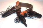 OldTradingPost complete western leather gun belts and holsters